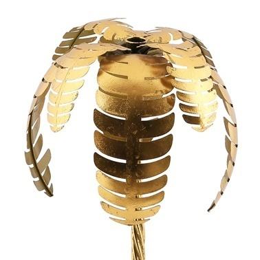 Vitale Gold Palmiye Dekoratif Metal Ağaç Renkli